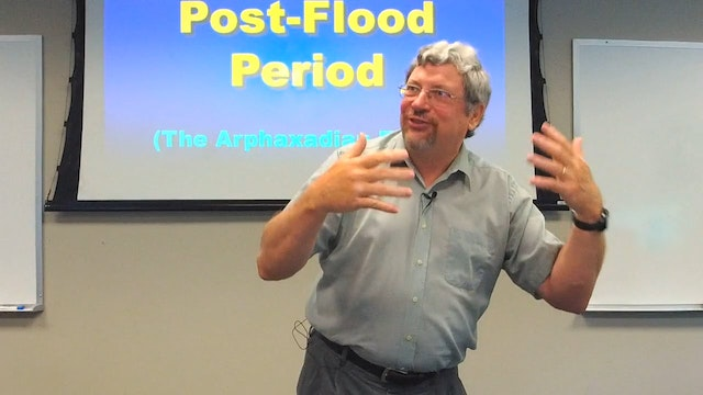 Geology: Post-Flood Period