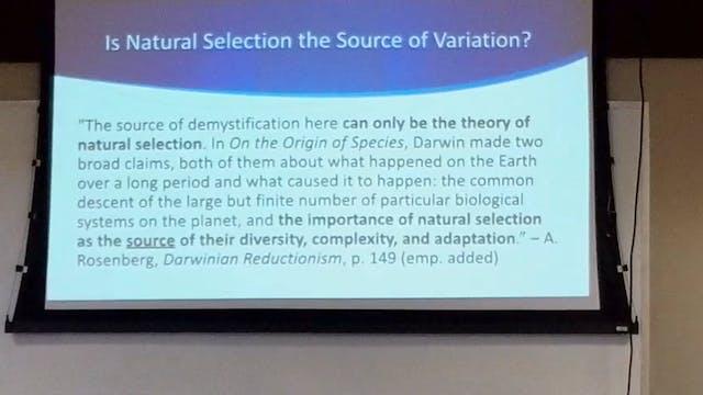 Biological Sciences: Examining Mutations & Natural Selection