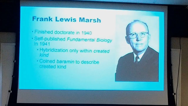 Biological Sciences: Created Kinds