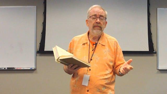 Why I am a Creationist - Dr. Steve Boyd, Hebraist