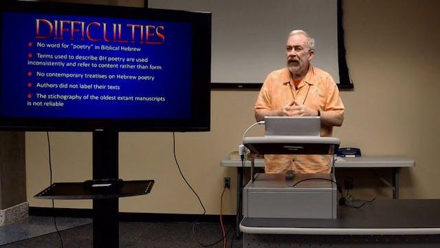 Biblical Studies: Is Genesis 1:1-2:4 Narrative or Poetry?