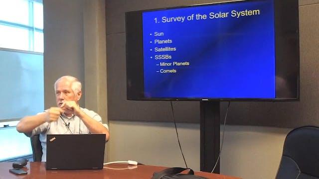 Astronomy: Creation Model of Solar System