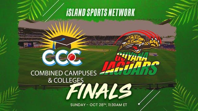 Super50 Cup FINALS CCC v Guyana Jaguars