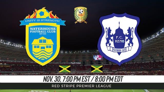 Waterhouse FC v FC Reno