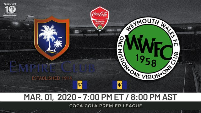 Empire Club v. Weymouth Wales