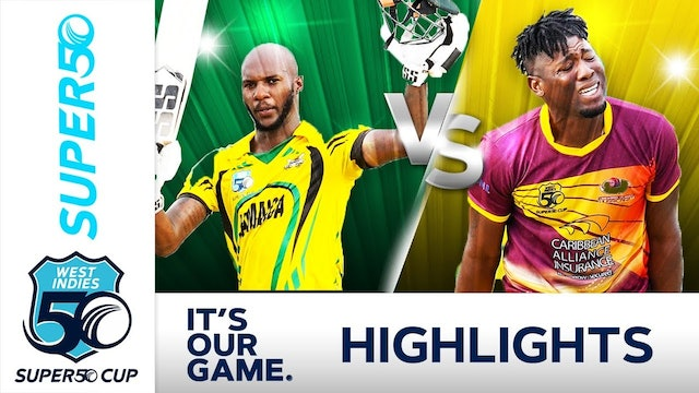 Super50 Cup - Jamaica Scorpions v Leewards Islands Hurricanes Match Day 14