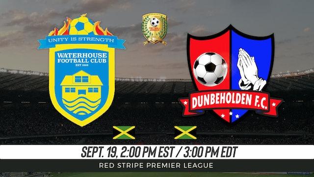 Waterhouse FC v Dunbelholden FC