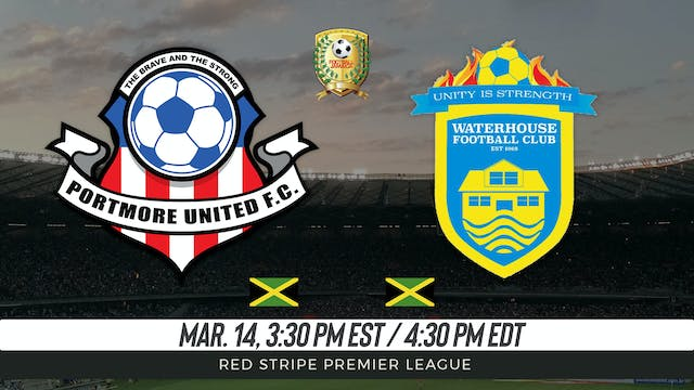 Portmore United v. Waterhouse