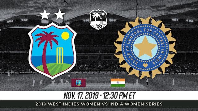 West Indies Women vs India Women   4th T20I 2019