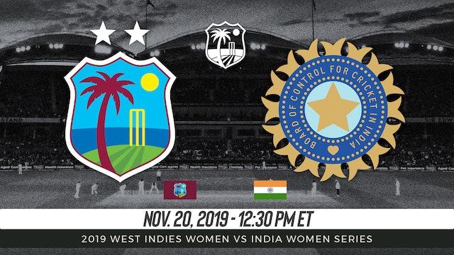 West Indies Women vs India Women   5th T20I 2019