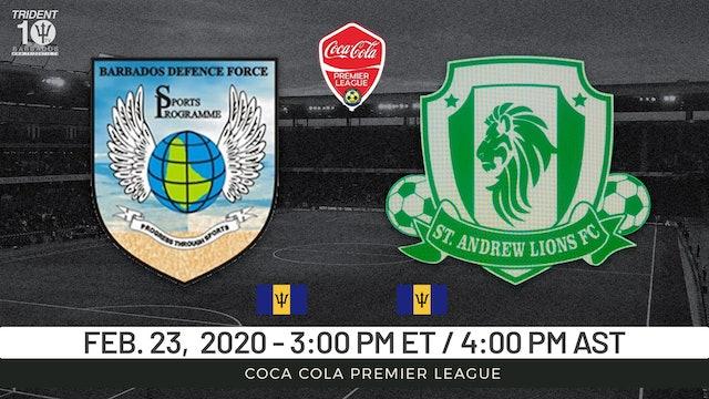 Barbados Defense Force v. St. Andrew Lions