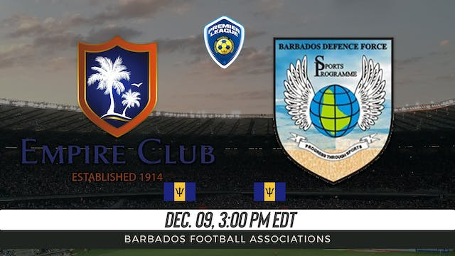 Empire Club v Barbados Defense Force