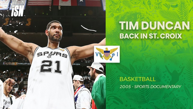 Tim Duncan Back in St. Croix, Virgin Islands 2005