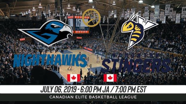 Guelph Nighthawks v. Edmonton Stingers