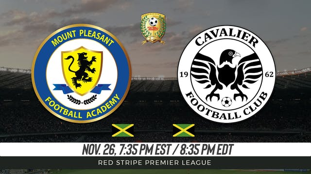 Mount Pleasant FA v Cavalier FC