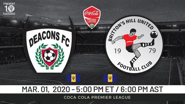 Deacons FC v. Britton Hill