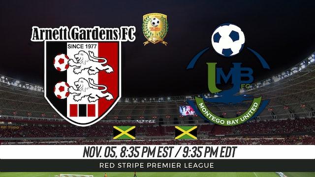Arnett Gardens FC v Montego Bay Utd
