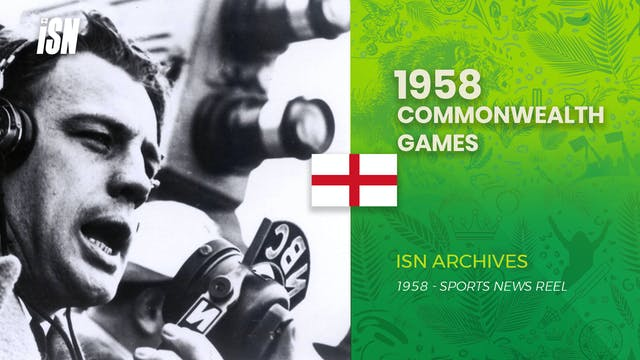 1958 Commonwealth Games in Cardiff, E...