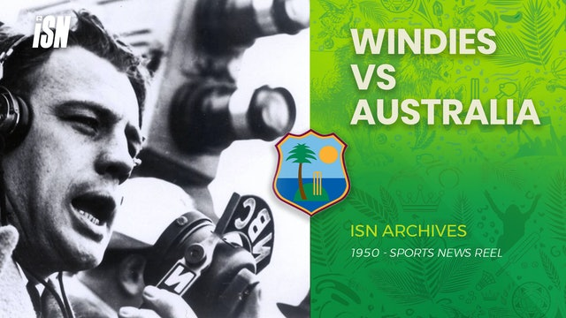 West Indies Cricketers Look 'aussie' Class (1950)