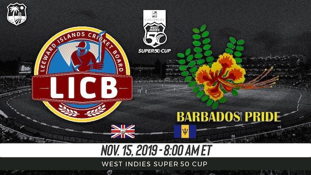 Leeward Island Hurricanes v. Barbados Pride