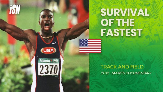 Michael Johnson: Survival of the Fastest
