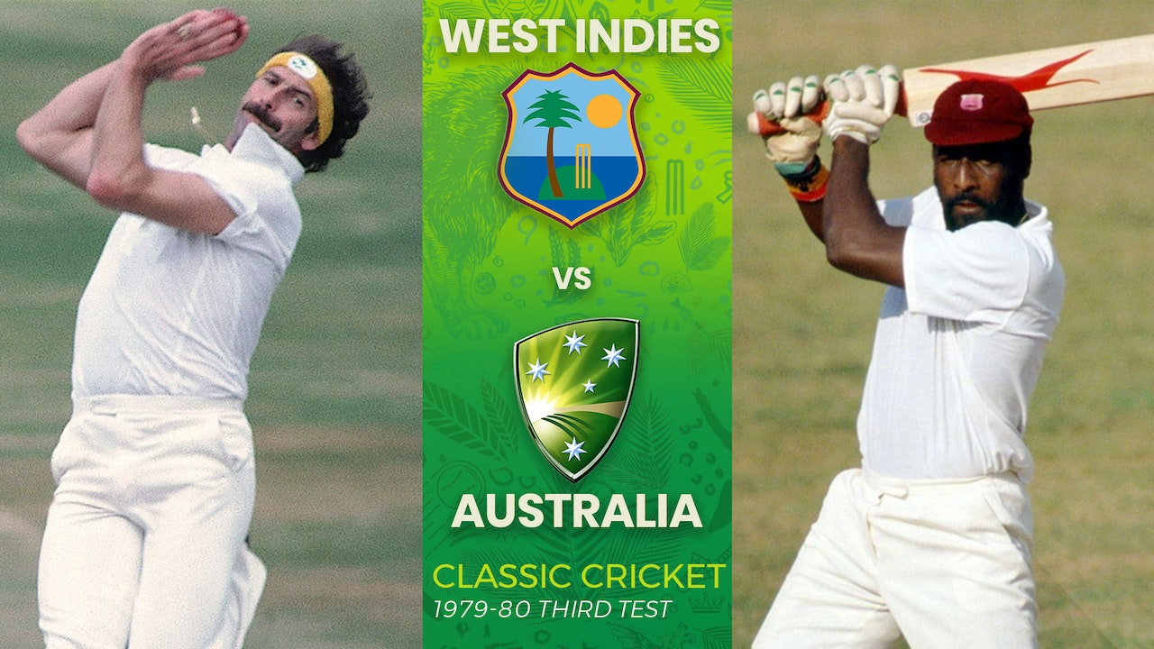 1979-1980 West Indies vs Australia Third Test