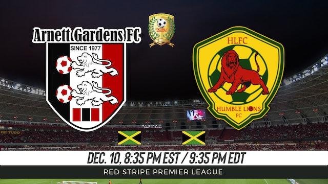 Arnett Gardens FC v Humble Lion FC