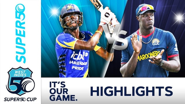 Super50 Cup - Barbados Pride v CCC Match Day 16