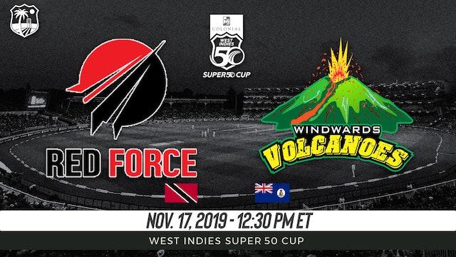 Trinidad and Tobago Red Force v. Windward Volcanoes
