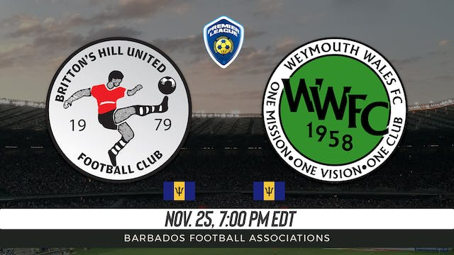 Brittons Hill United FC v Weymouth Wa...