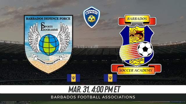 Barbados Defense Force v. Barbados Soccer Academy