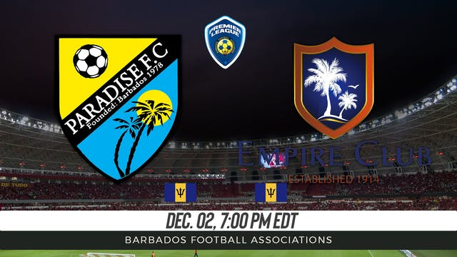 Paradise FC v Empire Club