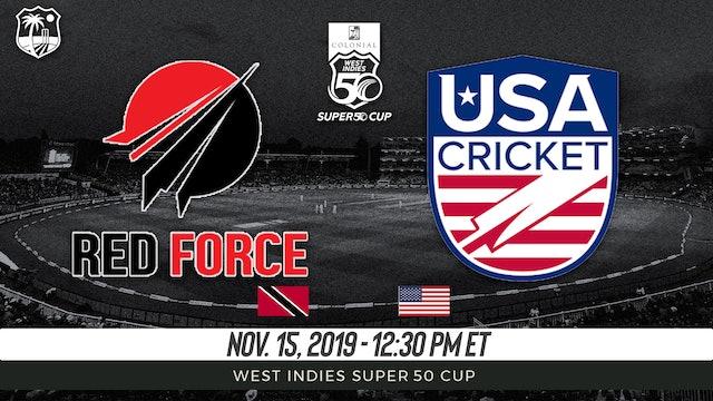 Trinidad and Tobago Red Force v. USA