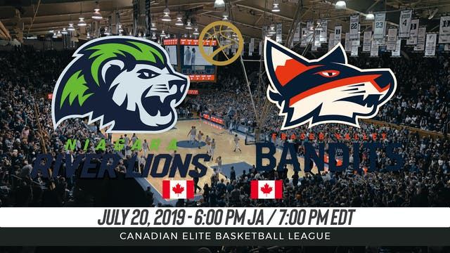 Niagara River Lions v. Fraser Valley ...