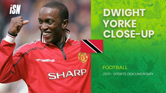 Dwight Yorke - Close Up of the former...