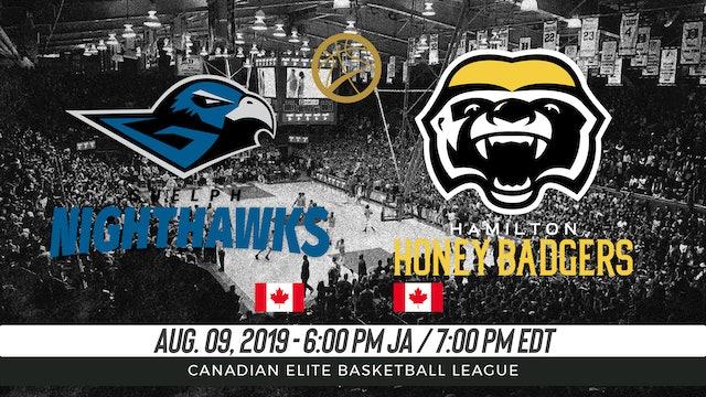 Guelph Nighthawks v. Hamilton Honey Badgers