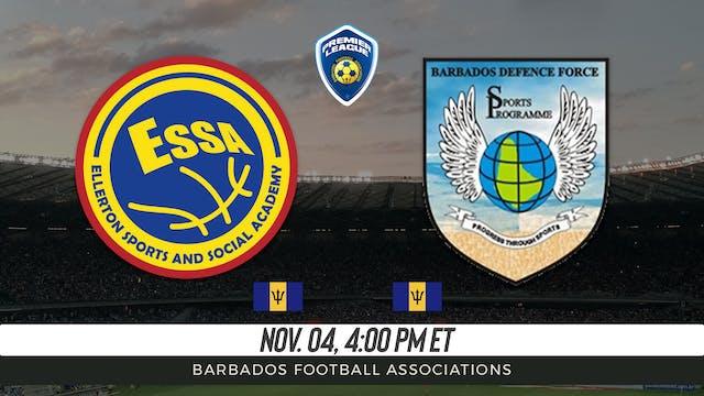 Ellerton Football Club v Barbados Def...