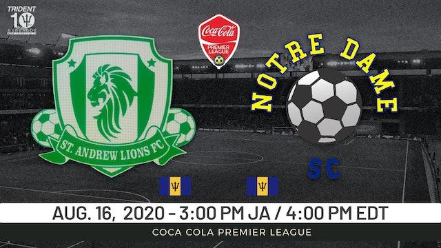 St. Andrew Lions v. Notre Dame SC