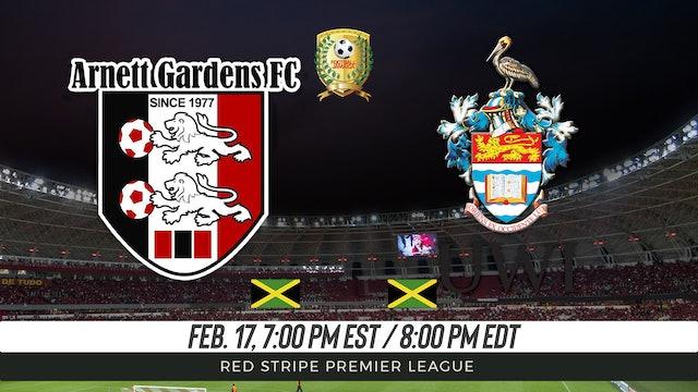 Arnett Gardens FC v UWI FC