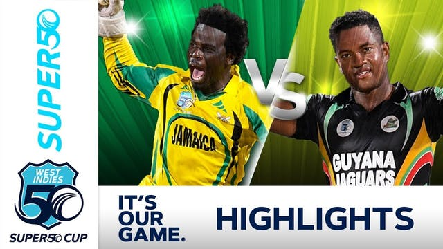 Super50 Cup - Semi Final Jamaica Scor...