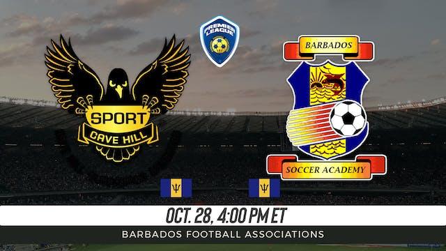 UWI Blackbirds v Barbados Soccer Academy