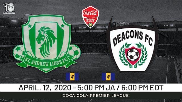 St. Andrew Lions v. Deacons FC