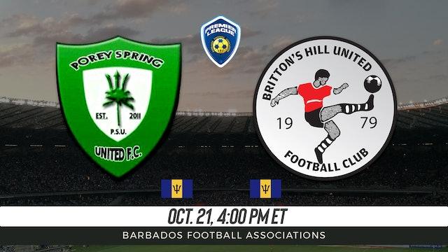 Porey Spring United FC v Britton Hills United FC