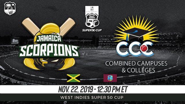 Jamaica Scorpions v. CCC Marooners
