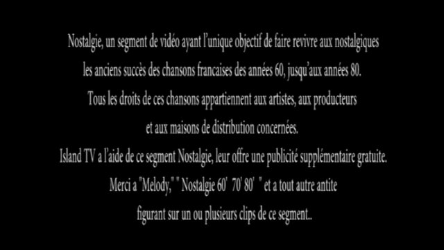 Nostalgie - Ep. 59