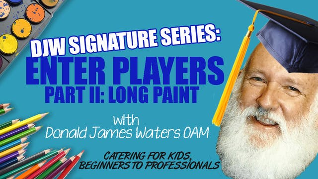 DJW Signature Series: Enter Players - Long Paint