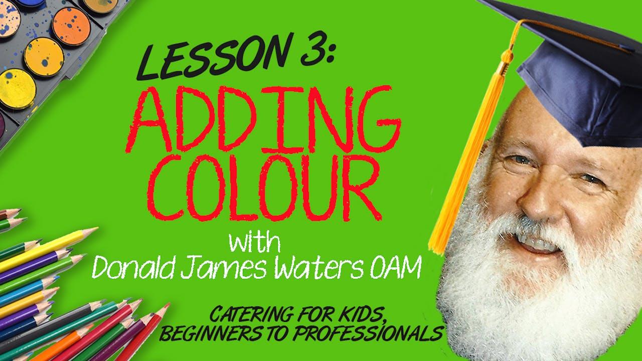 Lesson 3 - Adding Colour (Seal, Glaze & Scumble)
