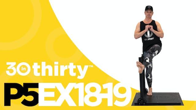Hip Flexion with Adduction [P5EX18-19]