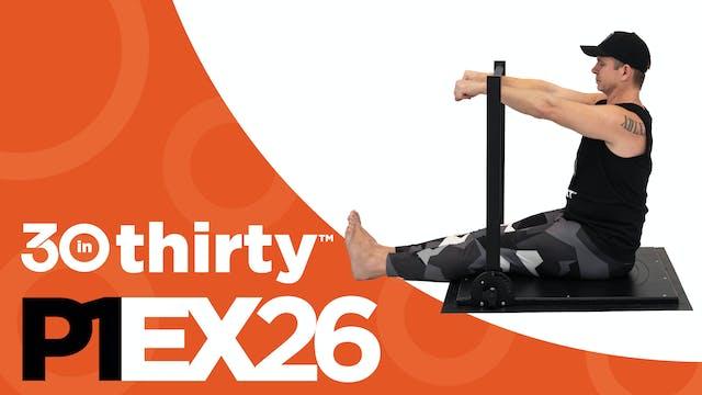 Seated Shoulder Flexion [P1EX26]