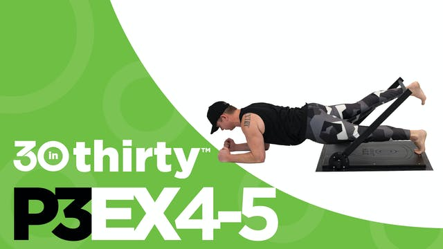 Plank with Hip Extension [P3EX4-5]